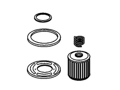 Picture of Mercruiser 3 litre Fuel Filter, Part Number 35-8M0046752