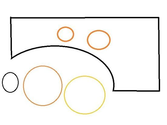 Picture of Mercruiser Bravo Drive Bell Housing Gasket Set, Part Number 16755Q1