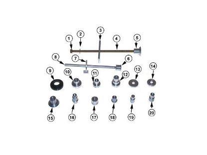 Mercruiser gearcase tool kit, Part Number 91-31229A7
