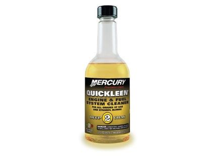 Quicksilver Quickleen engine and fuel system cleaner, Part Number 92-8M0079744