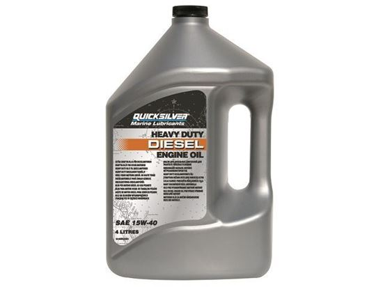 Picture of Quicksilver Diesel Engine Oil 4 Litres, Part Number 92-8M0096794