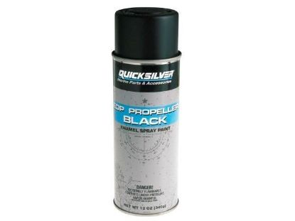 Mercruiser propeller black spray paint, Part Number 92-8M0133931