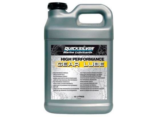 Quicksilver High Performance gear lube, 10 litres, Part Number 92-858065QB1