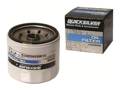 Quicksilver Mercruiser oil filter, Part Number 35-866340Q03