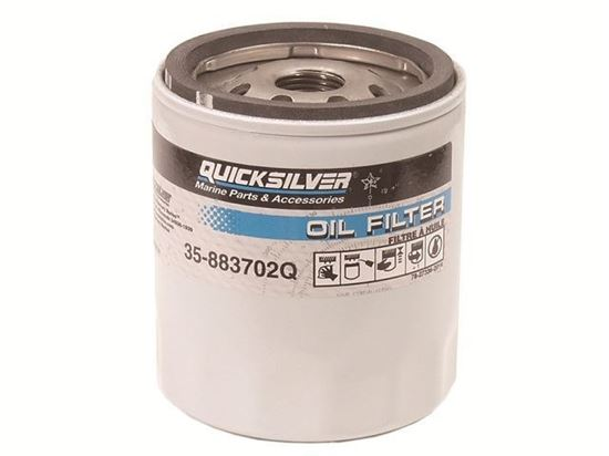 Quicksilver Mercruiser oil filter, Part Number 35-883702Q