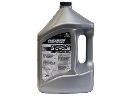 Quicksilver Premium Plus Two Stroke Oil 4 Litres, Part Number 92-858027QB1