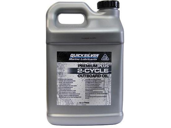 Quicksilver Premium Plus Two Stroke Oil 10 Litres, Part Number 92-858028QB1