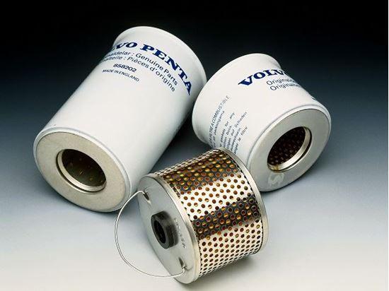 Picture of Volvo Penta Diesel Fuel Filter, Part Number 861477
