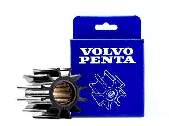 Volvo Penta Impeller for D2-50, D2-55, D2-60 and D2-75 diesel engines, Part Number 21951346