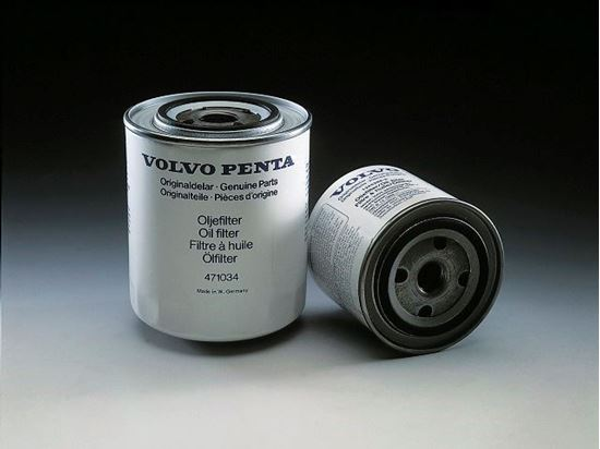 Picture of Volvo Penta Petrol Oil Filter, Part Number 3850559