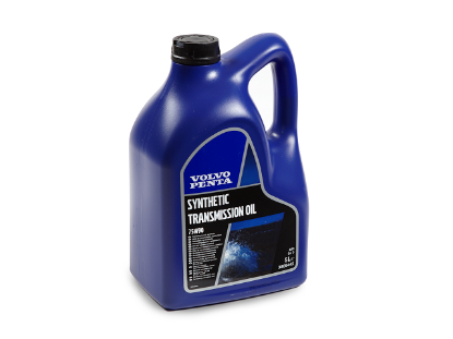 Volvo Penta Synthetic Transmission Oil, 5 litres, SAE 75W-90, Part Number 22479648