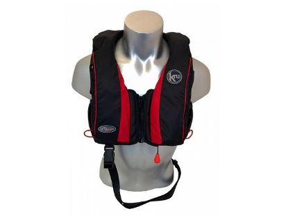 Picture of KRU Sport Pro 175N Auto Inflation Life Jacket in black
