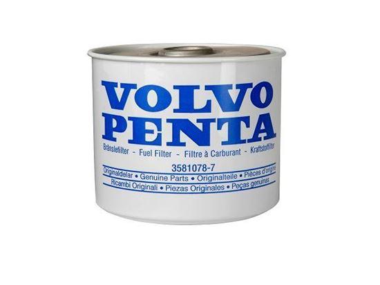 Picture of Volvo Penta Diesel Fuel Filter Element for 877767, Part Number 3581078