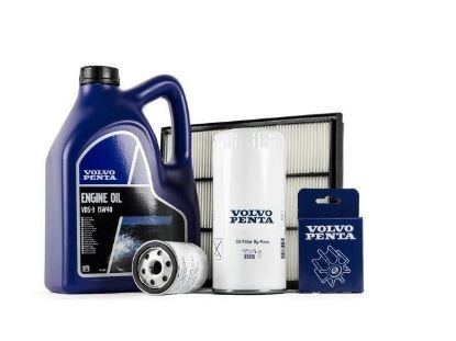 Volvo Penta Complete Service kit for Volvo Penta D2-55A and B diesel