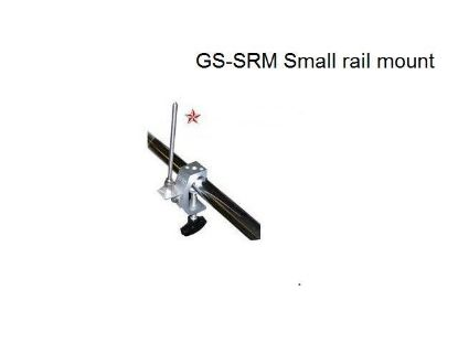 Rail mount for 1-inch or 2.54 diameter rail