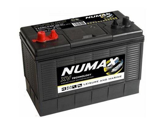 Numax Marine Cranking and Leisure battery, Type XV31MF, 12 Volt 105 Amp-Hr CXV