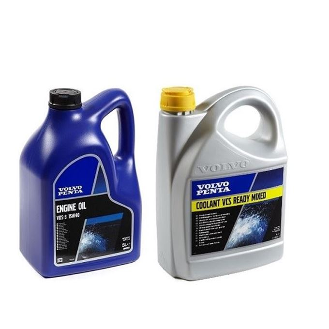 Picture for category TYPE-Volvo Penta Oil and Coolant