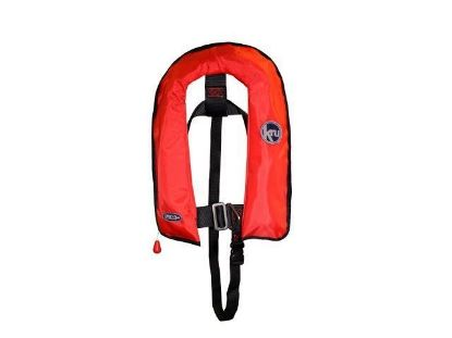 Picture of KRU XF Junior Auto Inflation Lifejacket with Harness in Red, LIF7569