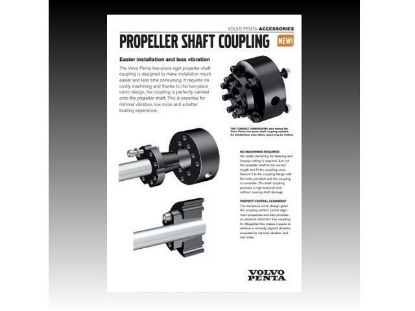 Picture of Volvo Penta Propeller Shaft Coupling PDF