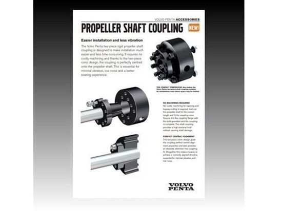 Volvo Penta Propeller Shaft Coupling- PDF  information