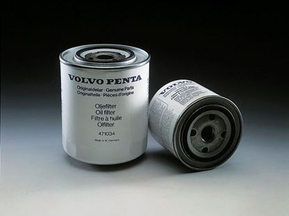 Picture of Volvo Penta Diesel Oil Filter for MD2020, MD2030, MD2040, Part Number 21549544