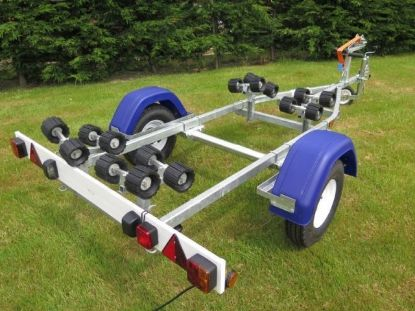 Picture of Indespension Coaster Micro Swing boat trailer