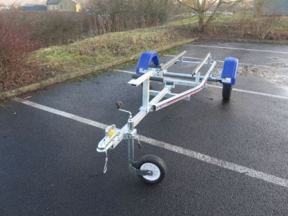 Picture of Indespension Coaster Micro bunked boat trailer