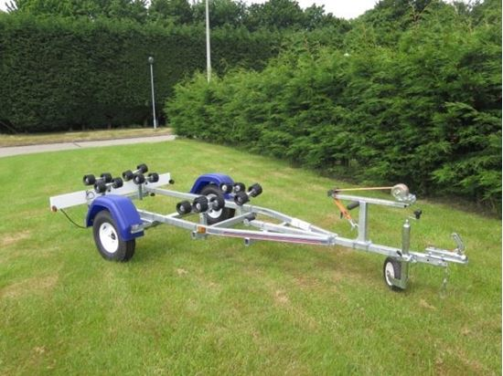 Picture of Indespension Coaster Mini Swing  boat trailer