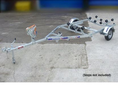 Picture of Indespension Roller Coaster 1 unbraked trailer