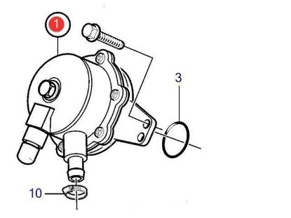 Volvo Penta Feed Pump, Part Number 21132189
