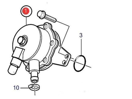 Volvo Penta Feed Pump, Part Number 21132189