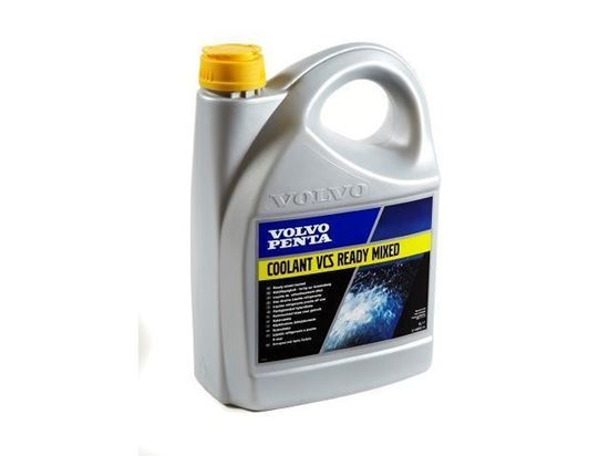 Picture of Volvo Penta VCS Yellow Ready To Use Coolant 5 Litres, Part Number 22567314