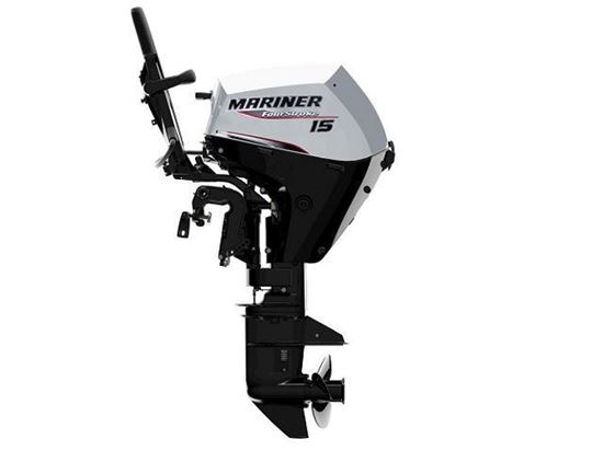 Picture of Mariner F15 MLH, EFI 15 HP Long Shaft Outboard
