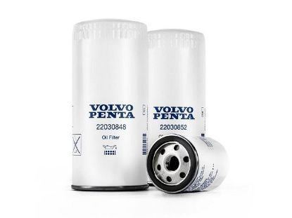 Volvo Penta D4 and D6 Diesel By-Pass Oil Filter, Part Number 22030852