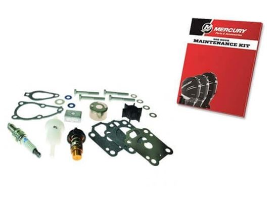 300 hour service kit for Mariner Mercury F4, F5 and F6 HP, 0R42475 and up