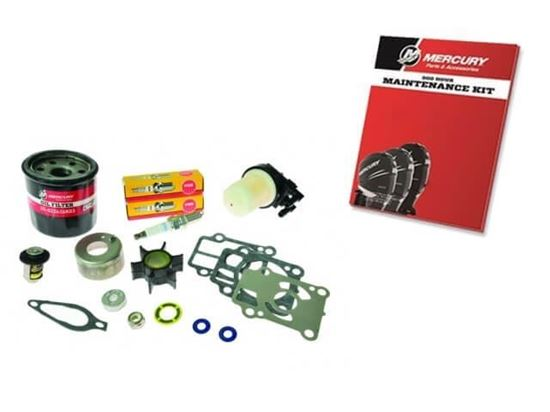 Mariner Mercury 300 hour service kit for F25 and F30 hp 0R106999 and up, Part Number 8M0120839