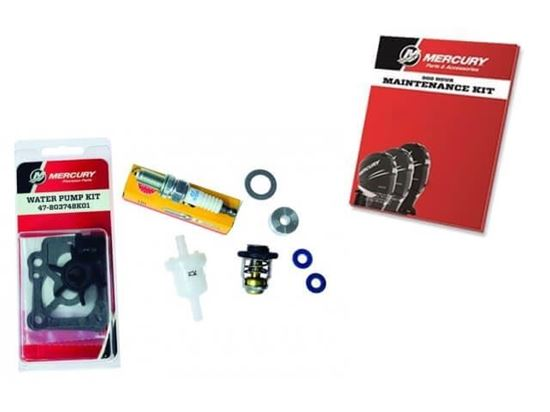 Mariner Mercury 300 Hour service kit F8 and 9.9hp STD GC, 0R042474 and up, Part Number 8M0120837