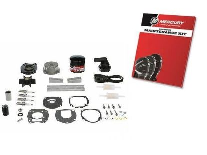 Mariner Mercury 300 Hour service kit for F80-F115 HP 4 Stroke 1.7L, Part Number 8M0097857