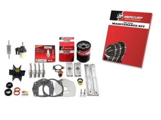Mariner and Mercury 300 hour maintenance service kit for 40-60 HP CT Big Foot EFI 4 Stroke outboard, Part Number 8M0090559