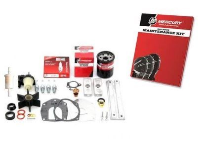 Mariner and Mercury 300 hour maintenance service kit for 40-60 HP EFI 4 Stroke outboard