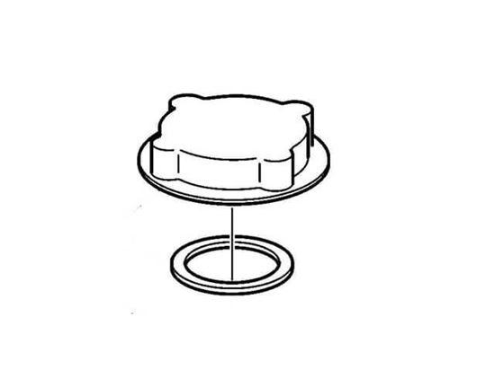 Volvo Penta Pressure Cap, Part Number 1674083