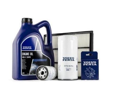 Volvo Penta Complete Service kit for Volvo Penta D4 using impeller 3588475
