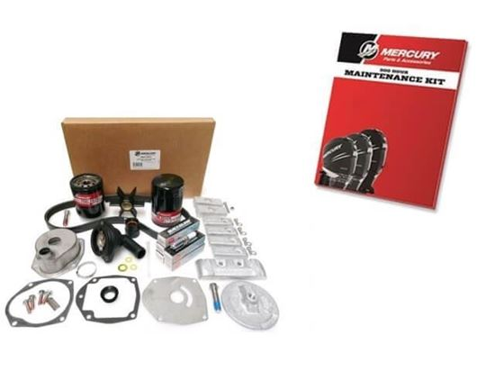 Verado 300 Hour service kit for L6 Verado from 2B144123 and above, Part Number 8M0133617