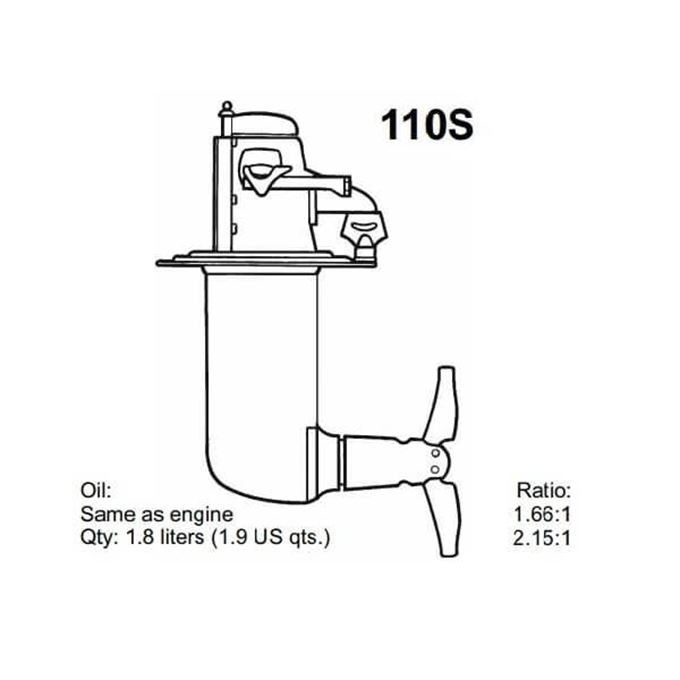Picture for category Volvo Penta 110S Saildrive Parts