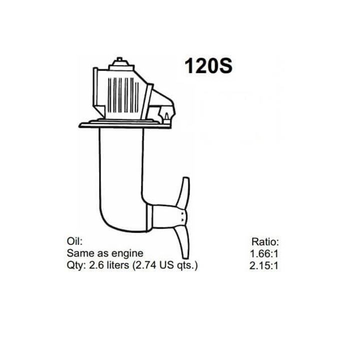Picture for category Volvo Penta 120S Saildrive Parts