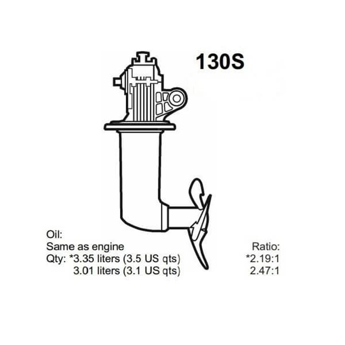 Picture for category Volvo Penta 130S Saildrive Parts