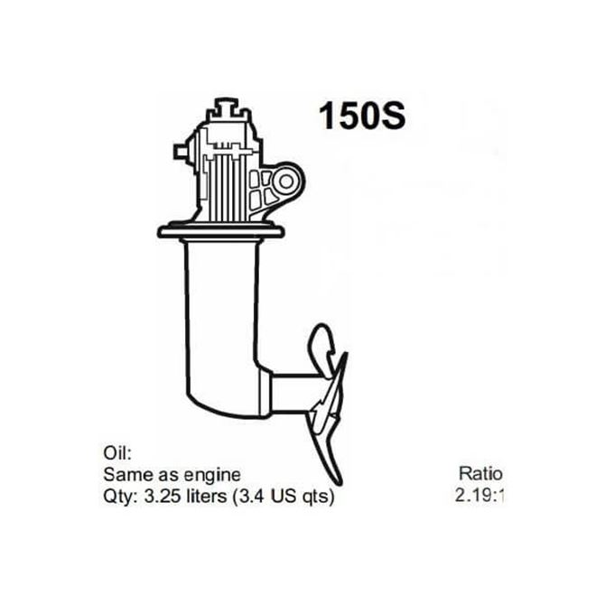 Picture for category Volvo Penta 150S Saildrive Parts