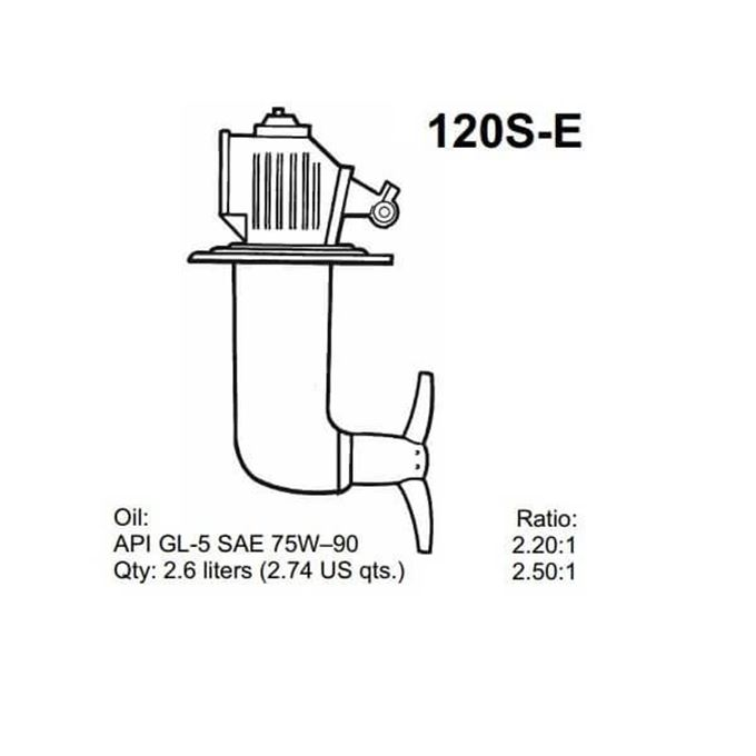 Picture for category Volvo Penta 120S-E Service Parts