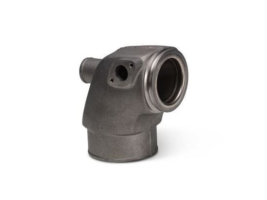 Volvo Penta KAD, AD31, AD41 exhaust elbow, Part Number 861289