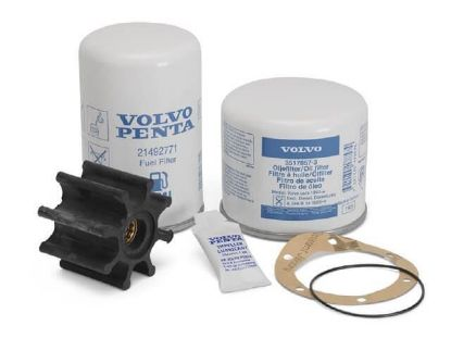 Volvo Penta Service Kit for KAD32P and AD31 engines, Part Number 877201